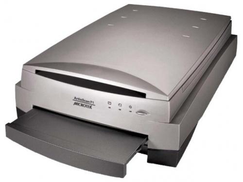 Сканер Microtek ArtixScan F1, Серебристый, вид 1