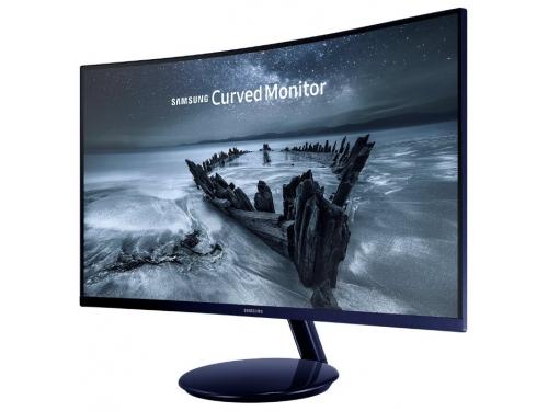 Монитор Samsung C27H580FDI, черный, вид 1