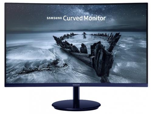 Монитор Samsung C27H580FDI, черный, вид 2