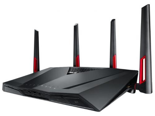 Роутер Wi-Fi ADSL-маршрутизатор Asus DSL-AC88U, вид 1