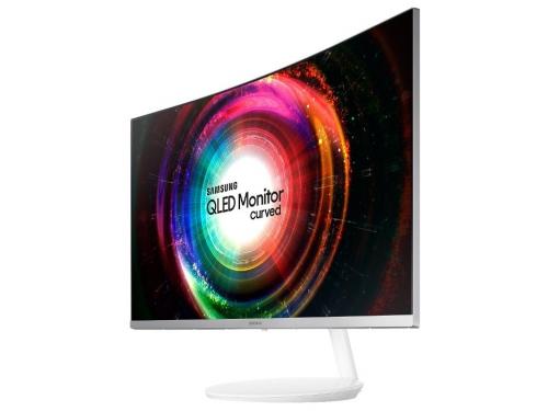 Монитор Samsung C32H711QEI, белый, вид 1