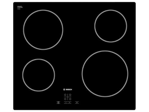 Варочная поверхность Bosch PKE611D17E, черная, вид 1