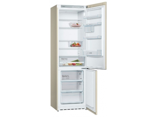 Холодильник Bosch KGV39XK22R, бежевый, вид 1