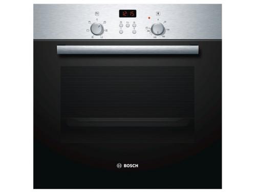 Духовой шкаф Bosch HBN239E4, серебристый, вид 1