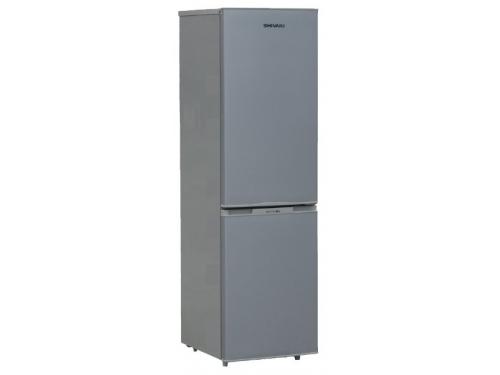 Холодильник Shivaki BMR-1551S,  серебристый, вид 1