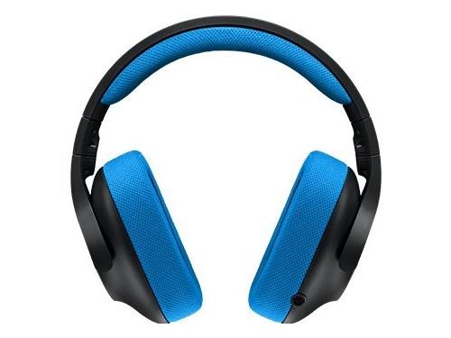 Гарнитура для ПК Logitech Gaming Headset G233 Prodigy, черно-голубая, вид 1