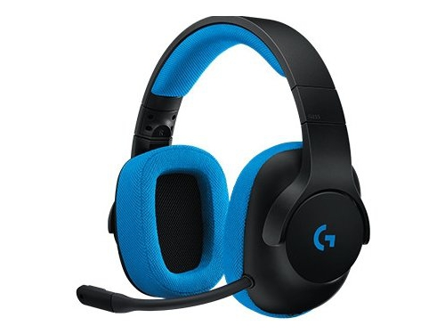 Гарнитура для ПК Logitech Gaming Headset G233 Prodigy, черно-голубая, вид 2