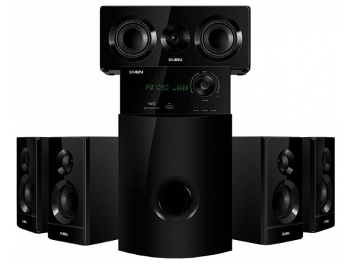 Комплект акустических систем Sven HT-210, черная, вид 1
