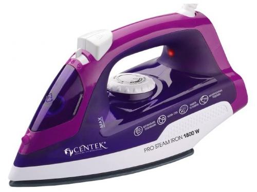 Утюг Centek CT-2348, фиолетовый, вид 1
