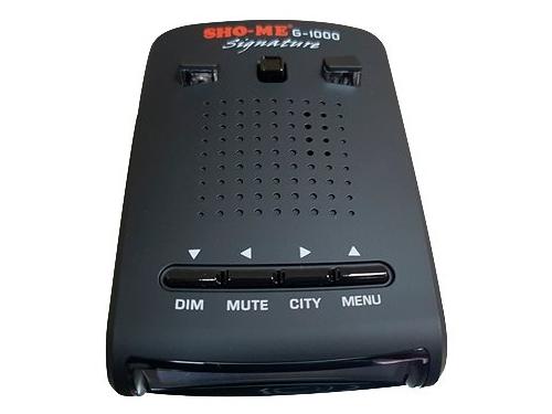 Радар-детектор Sho-Me G-1000 Signature (приемник GPS), вид 1