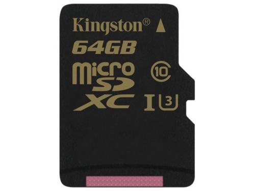 Карта памяти MicroSDXC Kingston SDCG/64GBSP 64Gb, вид 2