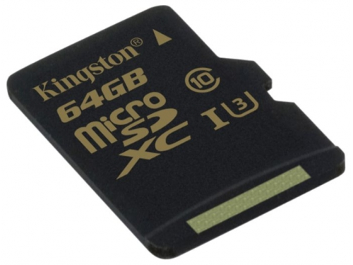 Карта памяти MicroSDXC Kingston SDCG/64GBSP 64Gb, вид 3