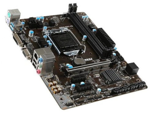 Материнская плата MSI B85M PRO-VD Soc-1150 B85 DDRIII mATX SATA3 LAN-Gbt VGA+DVI USB 3.0, вид 1