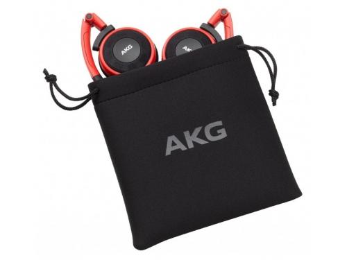 Наушники AKG Y30U, красные, вид 3