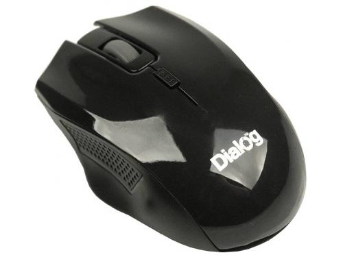 Мышь Dialog MROP-04UB USB, черная, вид 1