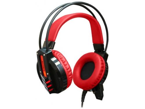 Гарнитура для ПК Redragon Chronos, красно-черная, вид 1