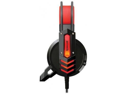Гарнитура для ПК Redragon Chronos, красно-черная, вид 2