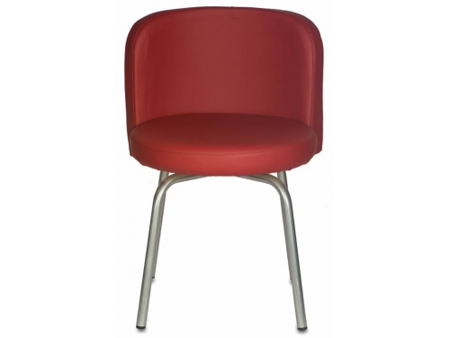 Компьютерное кресло Стул Бюрократ KF-2/Or-21 вращающийся, бордовый, вид 3