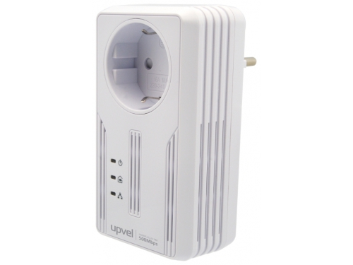 PowerLine-адаптер Upvel UA-252PS, вид 1