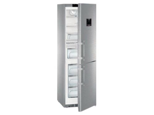 Холодильник Liebherr CNPes 4358-20, серебристый, вид 1