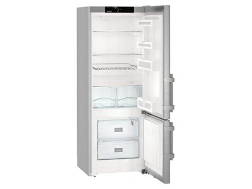 Холодильник Liebherr CUef 2915-2, серебряный, вид 2