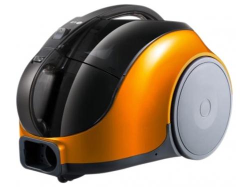 Пылесос LG V-K74W25H, оранжевый, вид 1