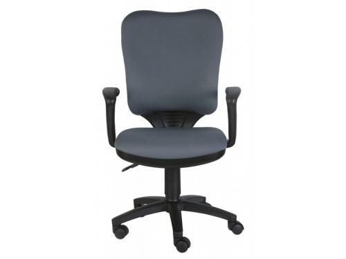 Компьютерное кресло Бюрократ CH-540AXSN/26-25 серое, вид 1