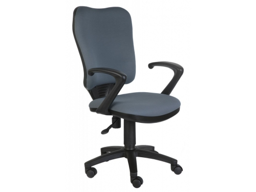 Компьютерное кресло Бюрократ CH-540AXSN/26-25 серое, вид 5