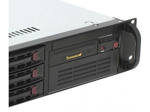 Серверная платформа SuperMicro SYS-6028R-T (2U, 2x LGA2011v3, 6x SATA, 650 Вт), вид 3