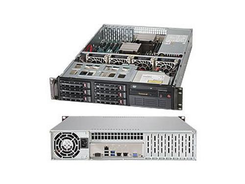 Серверная платформа SuperMicro SYS-6028R-T (2U, 2x LGA2011v3, 6x SATA, 650 Вт), вид 4