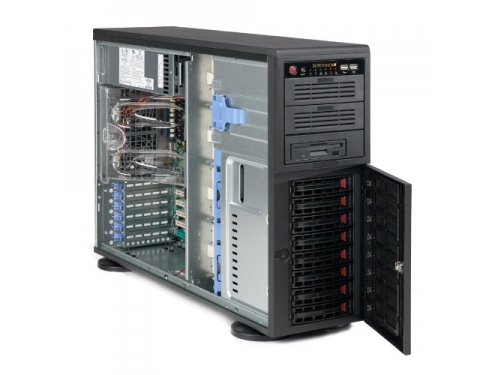 Корпус SuperMicro CSE-745TQ-R920B (Tower 4U, EATX, 2x 920W), вид 4