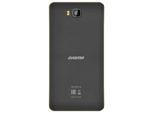 Смартфон Digma VOX S501 3G 8Gb, черный, вид 3