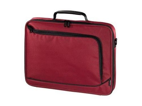 Сумка для ноутбука Hama Sportsline Bordeaux 15.6, красная, вид 1
