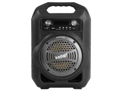 Портативная акустика SmartBuy BOOM! SBS-4000, черная/серебро, вид 1