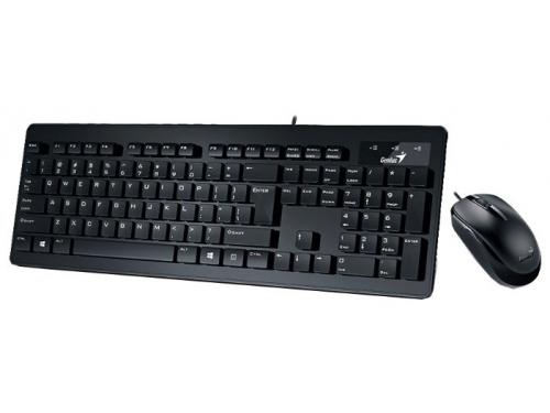 Комплект Genius SlimStar C130, Черный, вид 1