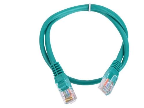 Кабель-переходник LAN (патчкорд) Aopen Патч-корд  UTP 5e зеленый, вид 1
