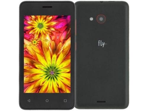 Смартфон Fly FS408 Stratus 8 512Mb/8Gb, черный, вид 1