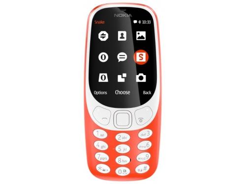 Сотовый телефон Nokia 3310 2017, красный, вид 1