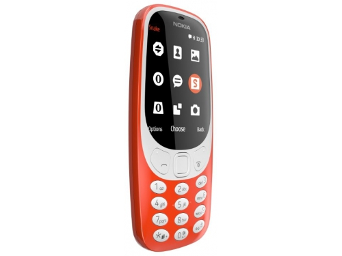 Сотовый телефон Nokia 3310 2017, красный, вид 2