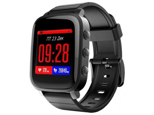 Умные часы SMA Time, черные, вид 1