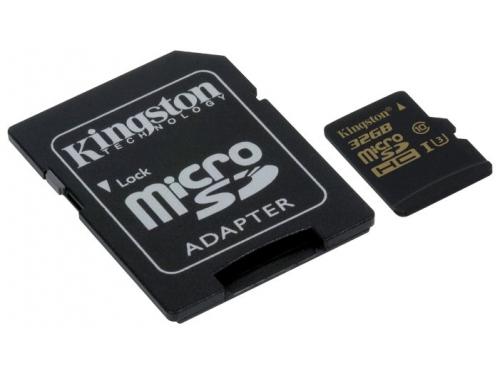 Карта памяти Kingston SDCG/32GB (с адаптером), вид 1