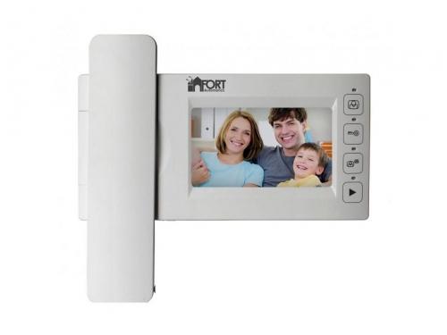 Видеодомофон Fort Automatics С0408, Белый, вид 1