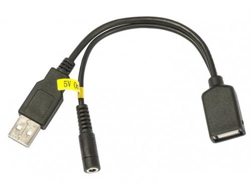 Кабель (шнур) MikroTik 5VUSB (инжектор питания для USB-устройств, для RB411UAHR), вид 1