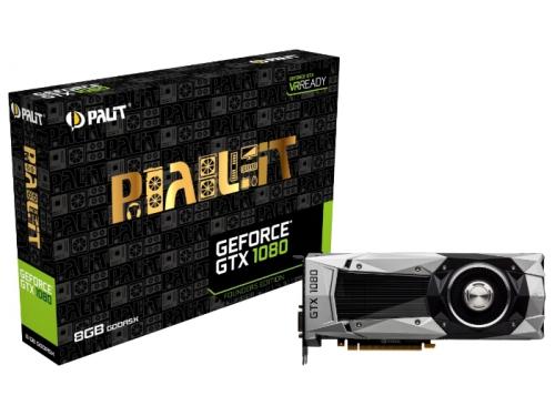 Видеокарта GeForce Palit GeForce GTX 1080 8192Mb 256b , вид 5