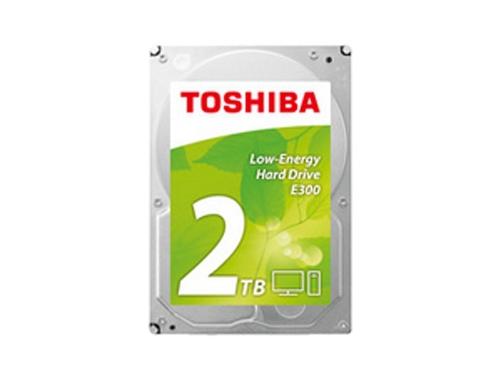 Жесткий диск Toshiba HDWA120UZSVA (E300, 2Tb, 3.5'', SATA3, 5700rpm), вид 1