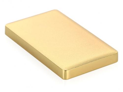 Корпус для жесткого диска AgeStar 31UB2A15 (2.5'', SATA - microUSB3.1b), золотистый, вид 2