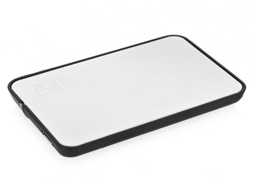 Корпус для жесткого диска AgeStar 31UB2A8 (2.5'', SATA - microUSB3.1b), серебристый, вид 2