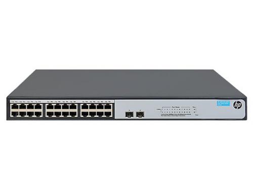 Коммутатор (switch) HP 1420-24G-2S, вид 1