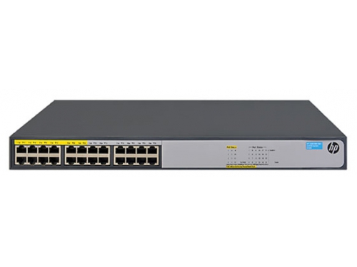 Коммутатор (switch) HP 1420-24G-PoE+ (JH019A), вид 1
