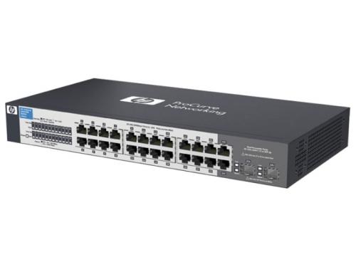 Коммутатор (switch) HP V1410-24 (J9663A), вид 1